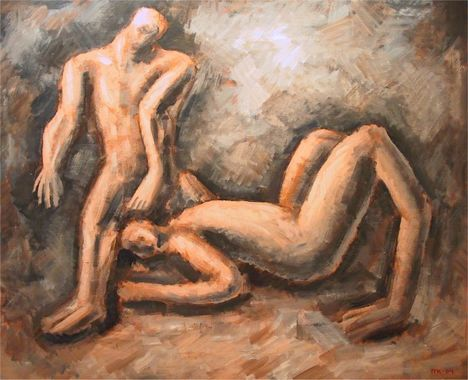 Michael Krohn maleri