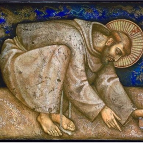 Piero Casentini, �Saint Francis of Assisi�,