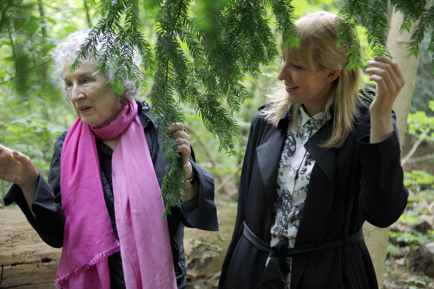 Framtidsbiblioteket, Margaret Atwood og Katie Paterson,