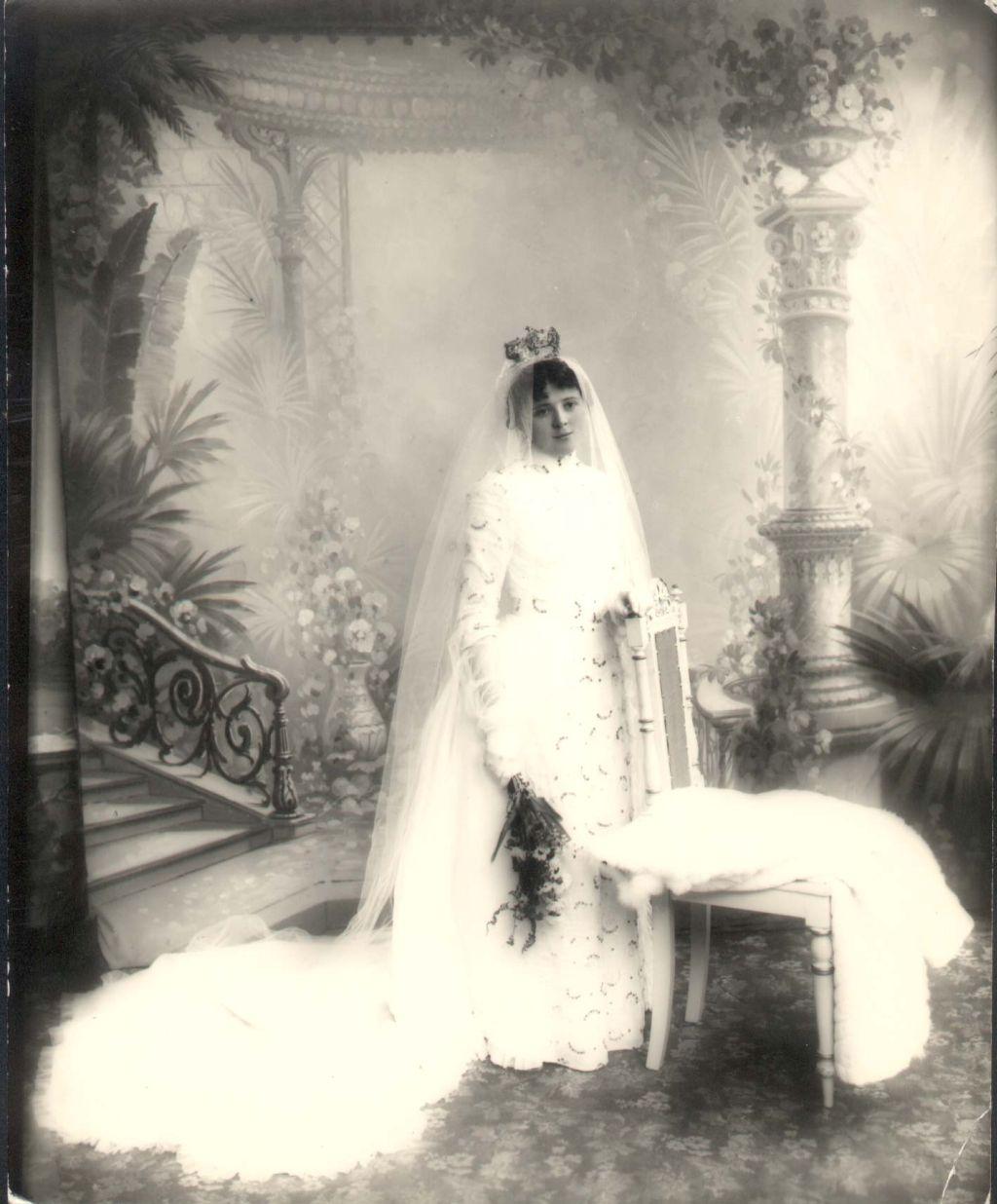 Victor Lind, Marta Leimann st�r brud,