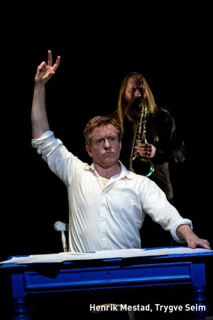 Den andre mannen i meg, Av og med skuespiller Henrik Mestad og<BR>musiker/komponist Trygve Seim.,