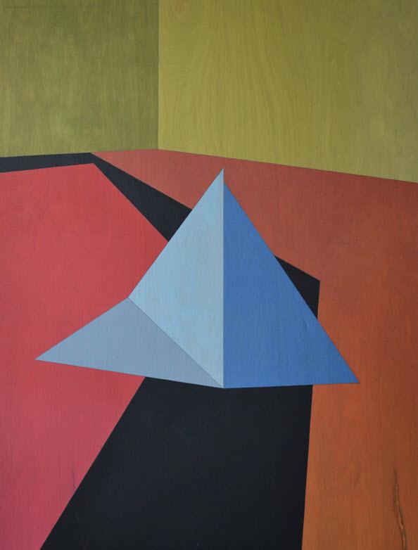 Peder K. Bugge, 80x60 cm, oil on wood, 2012,